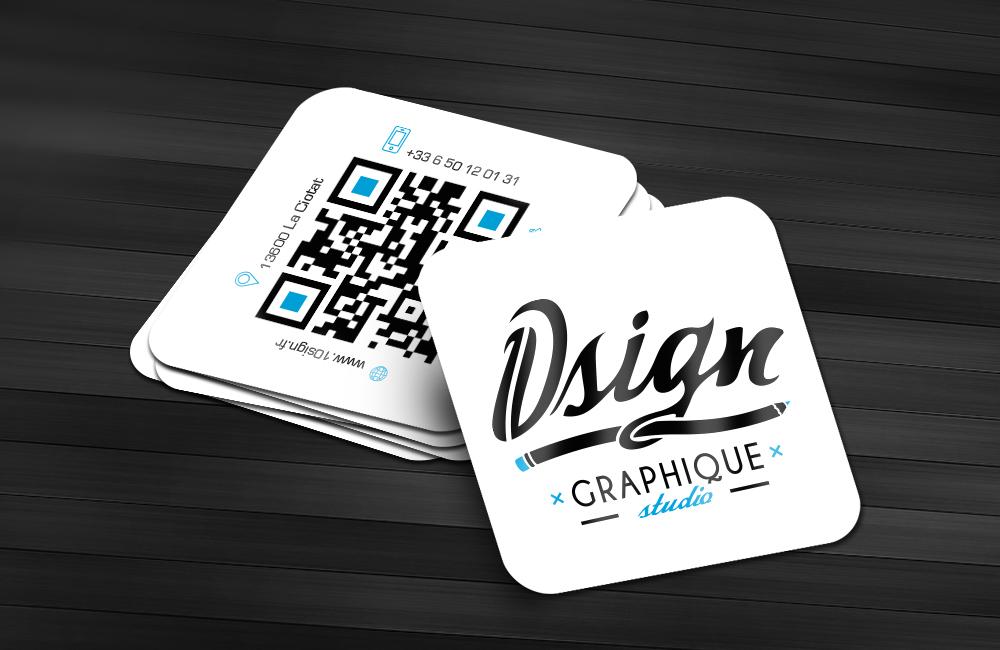 cartes de visite design pour 10sign